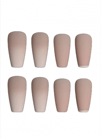 Nude Ombre Press On Nails