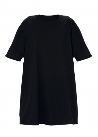 Andrea T-shirt Dress Black