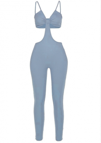 Leanne Jumpsuit Blue