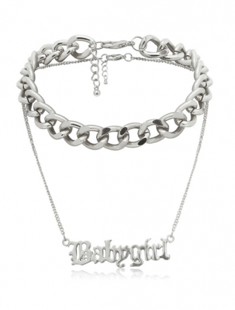 Babygirl Necklace SIlver
