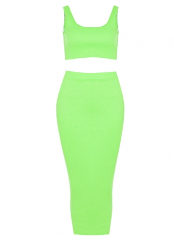 Maxine Two Piece Set Green