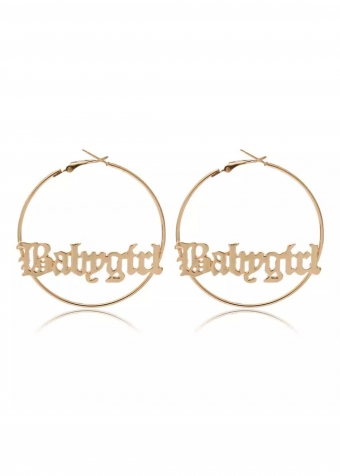 Babygirl Earrings Gold