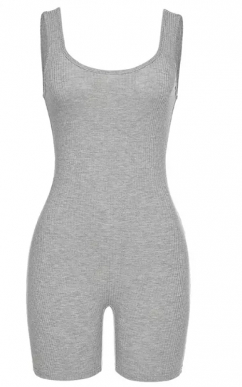 Jenn Playsuit Grey