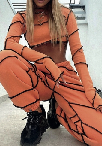 Cynthia Jogger Set Orange