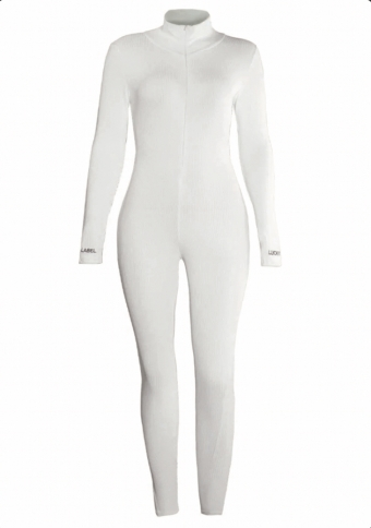 Janell Jumpsuit White