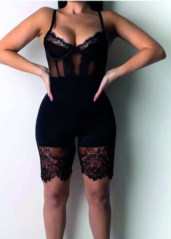 Amelie Lace Playsuit