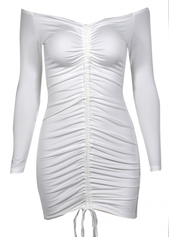 Aniya Dress White