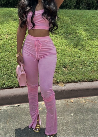 Trina Two Piece Pink