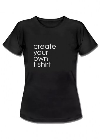 Create your own T-shirt Black