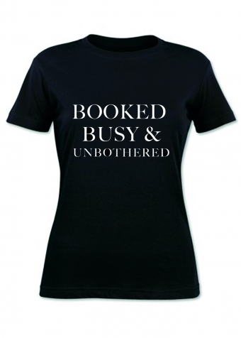 Booked T-shirt Black
