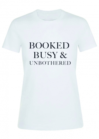 Booked T-shirt White