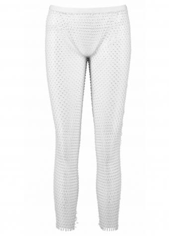 Sparkle Pants White