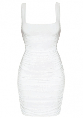 Stassi Dress White