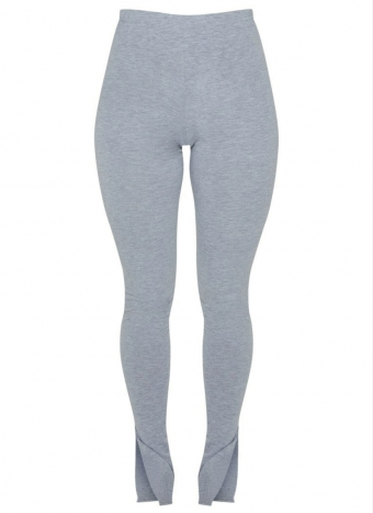 Maura Split Legging Grey