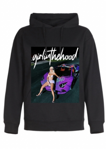 Girl in the hood Hoodie
