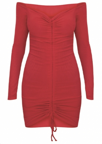 Aniya Dress Red
