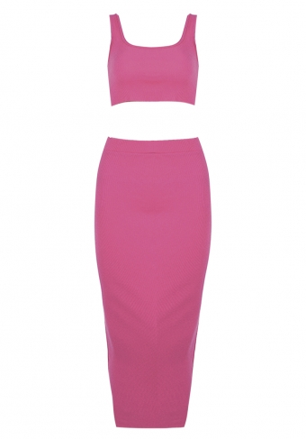Maxine Two Piece Set Pink