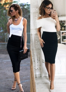 Graciella Basic Skirt