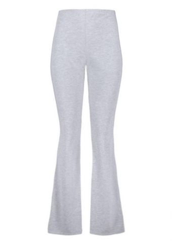 Basic Flared Legging Grey