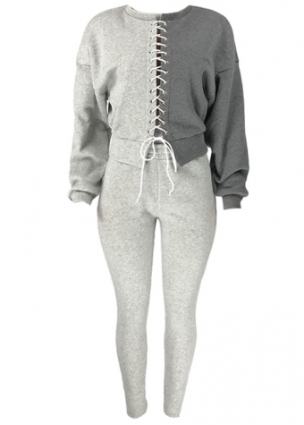Isabell Jogger Set Grey