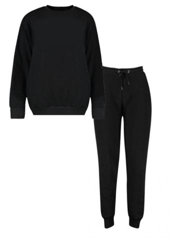 Alicia Jogger Set Black