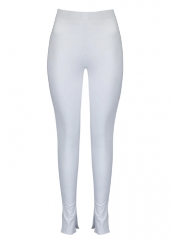Kelly Split Legging White
