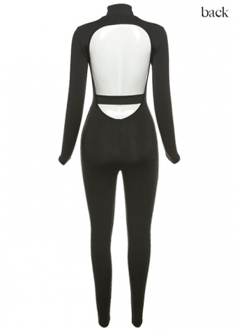 Kourtney Jumpsuit Black