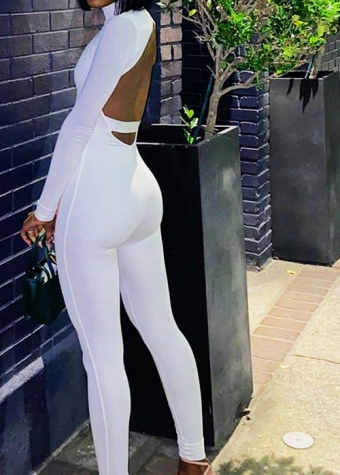 Kourtney Jumpsuit White