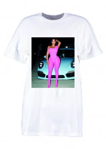 Hot Girl T-shirt White