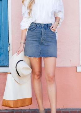 Maxime Denim Skirt