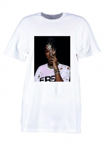 RiRi Mood T-Shirt White