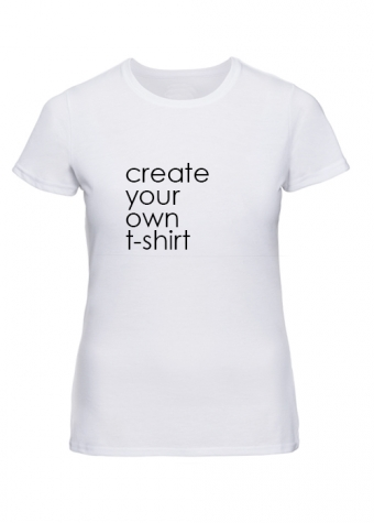 Create your own T-shirt White